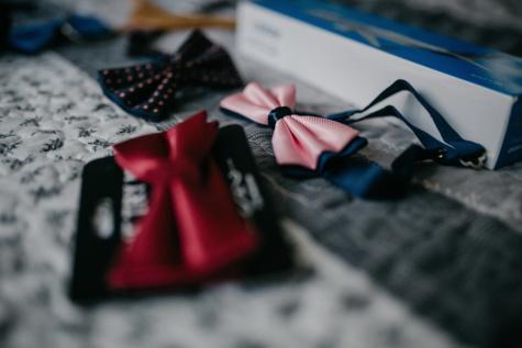 nœud papillon, rosâtre, fantaisie, Outfit, mode, style, brouiller, à l'intérieur, nature morte, Shopping