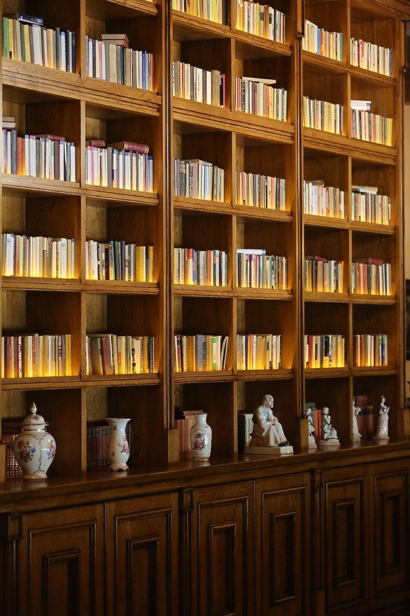 Bibliothèque, Accueil, bibliothèque, livres, décoration d'intérieur, armoire, livre, plateau, meubles, bibliothèque