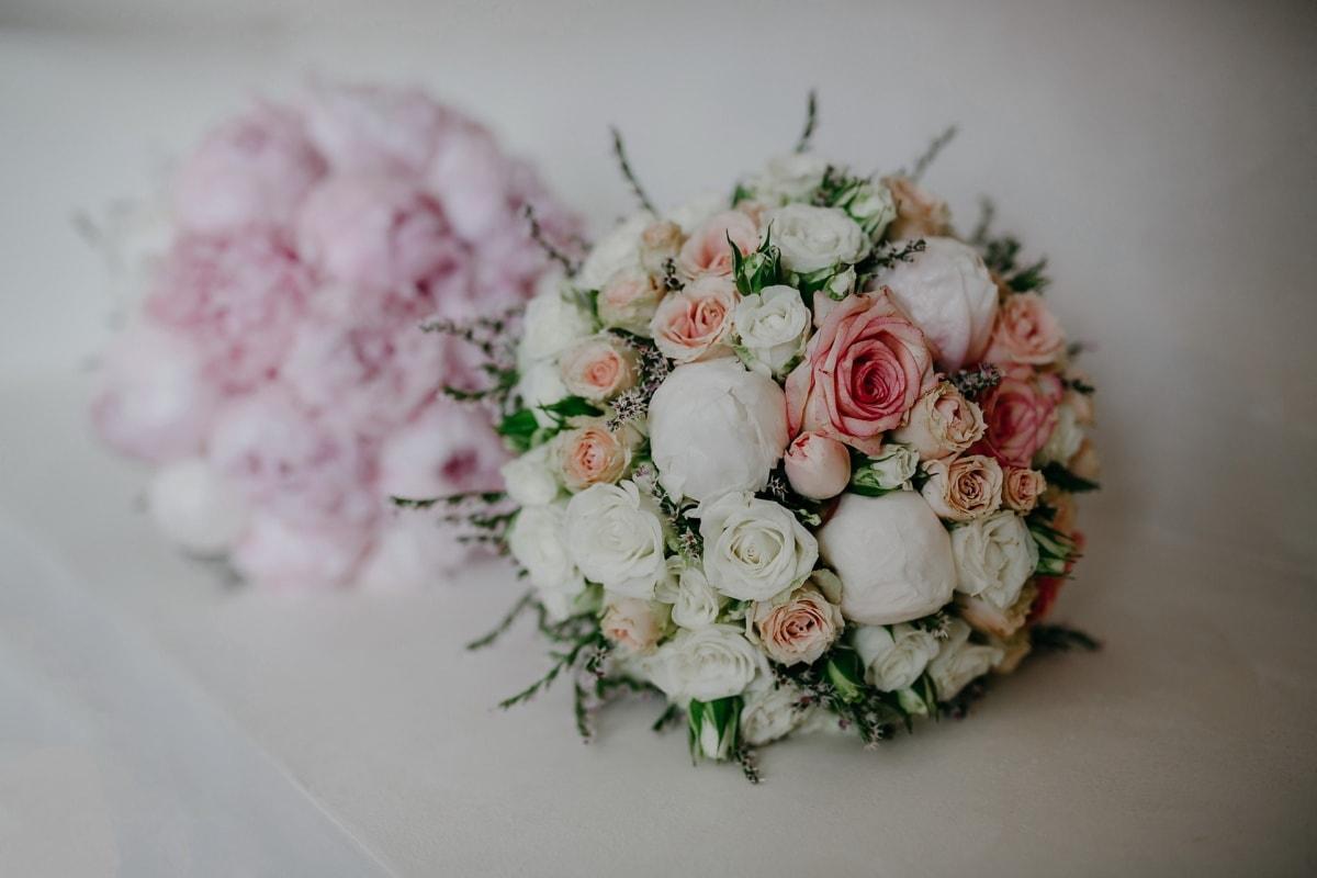 arrangement, bouquet, fleur, amour, mariage, Rose, décoration, nature morte, romance, nature