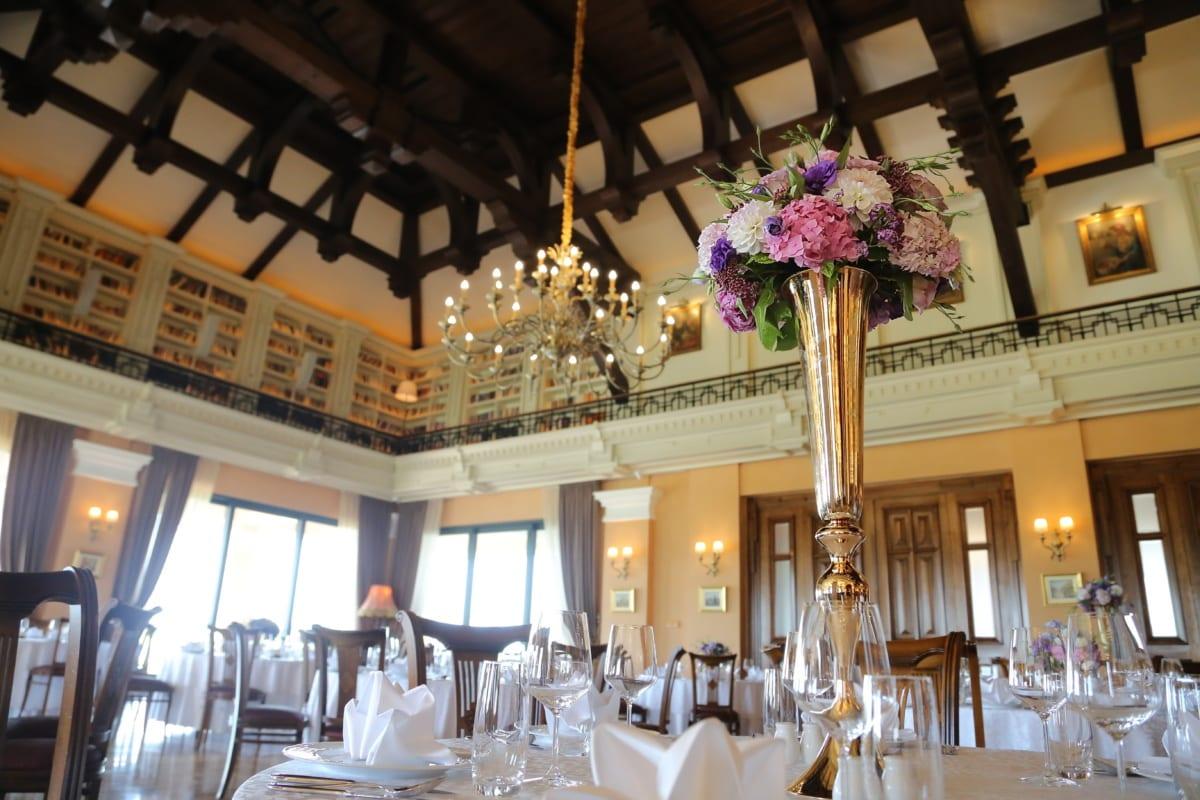 décoration d'intérieur, à l'intérieur, salle à manger, restaurant, fantaisie, vase, au plafond, à manger, hôtel, Design d'intérieur