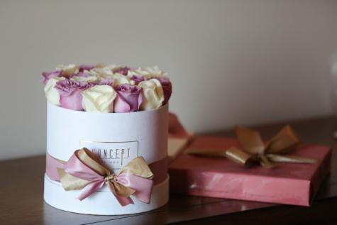 ajándékok, képzelet, Valentin-nap, Rózsa, szerelem, virág, Csendélet, évforduló, doboz, beltéri