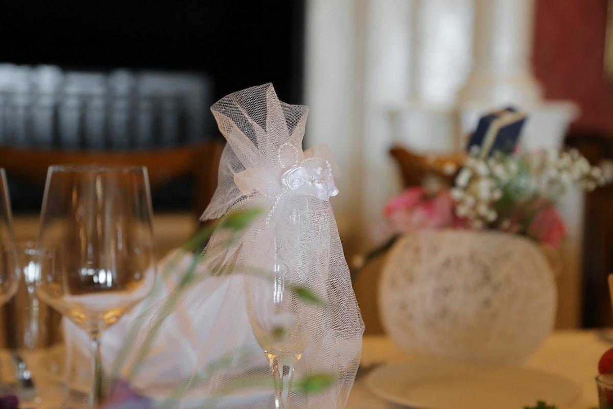 wine, bride, glass, decorative, champagne, wedding, luxury, dining, indoors, interior design