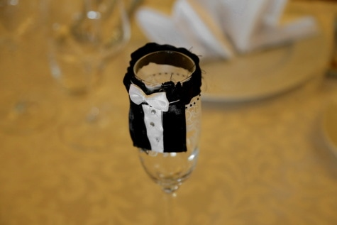 wedding, glass, groom, decorative, tuxedo suit, bowtie, wine, blur, indoors, still life