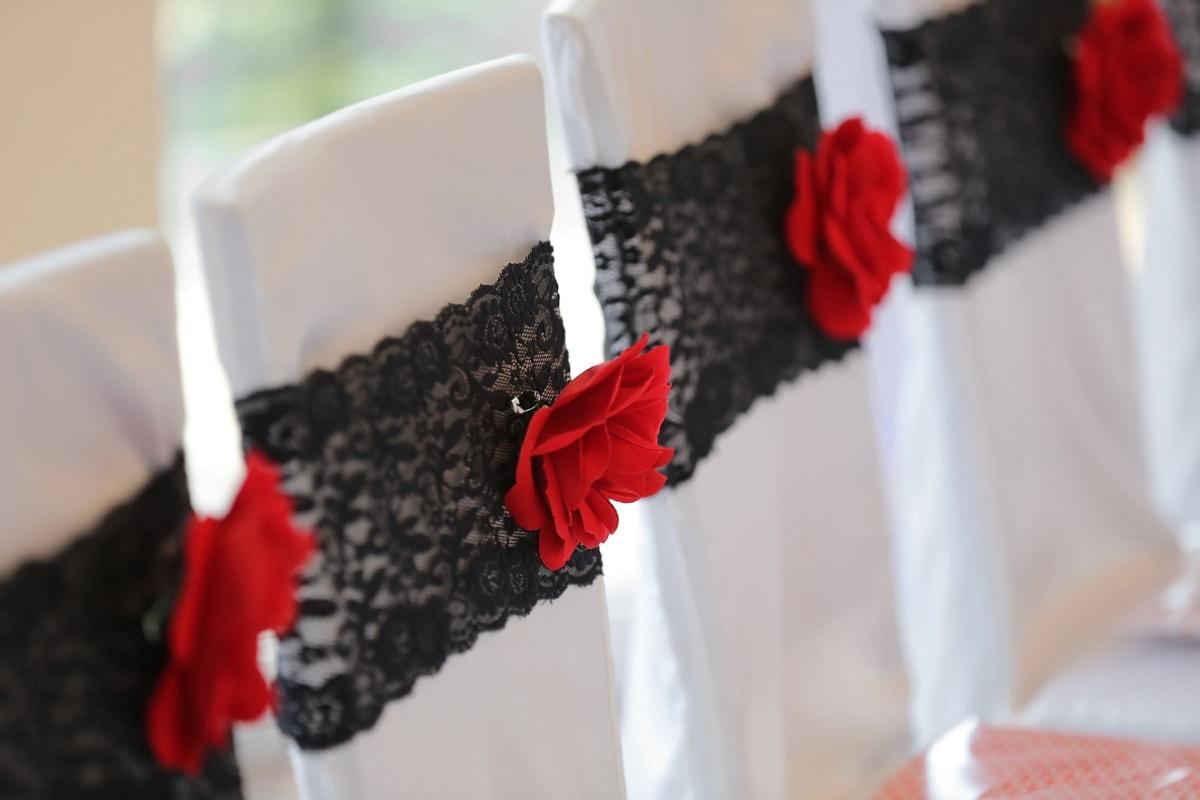 Lust auf, Hochzeitsort, Stühle, Stil, elegant, Mode, traditionelle, Romantik, Hochzeit, Interieur-design