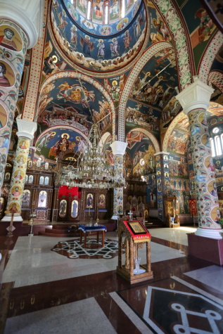 Serbia, orthodox, church, mosaic, icon, altar, architecture, cathedral, religion, structure