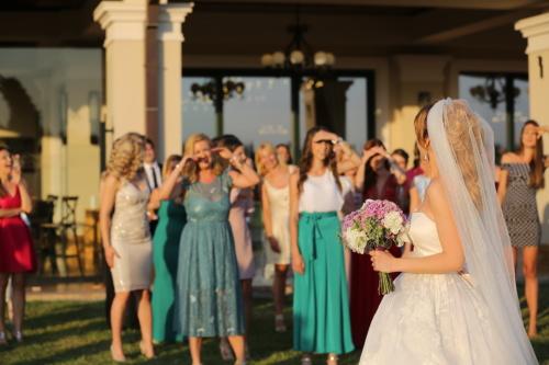 jonge vrouw, meisjes, vrouwen, trouwlocatie, trouwjurk, bruid, bruidsboeket, bruiloft, paar, Winkel