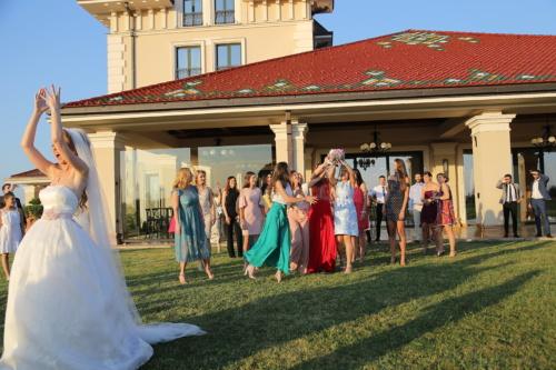publikum, kjæreste, bryllup bukett, bruden, vennskap, jenter, venner, pen jente, bryllup, folk