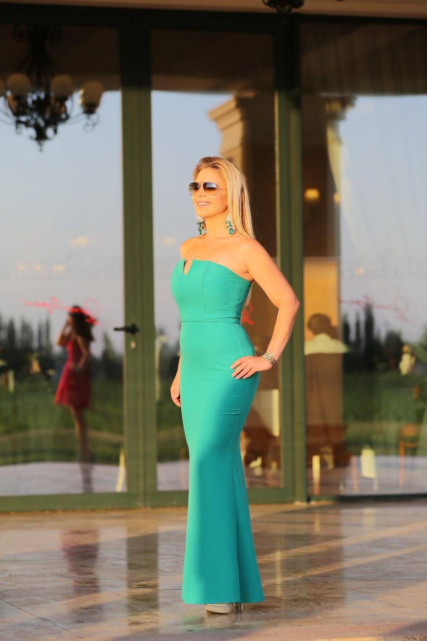 jurk, zin in hebben, groen, mooi meisje, prachtige, mode, model, kleding, vrouw, aantrekkingskracht