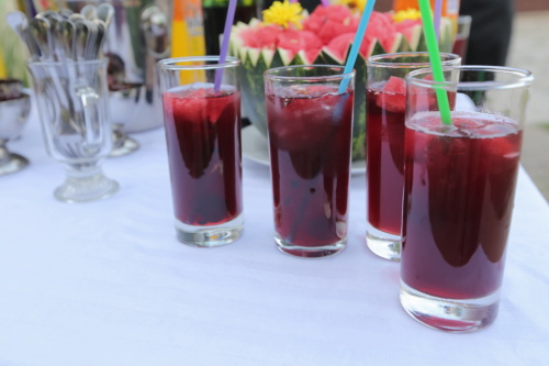 fruit cocktail, fruit juice, ice crystal, ice water, drinking straw, party, beverage, cold, glass, ice
