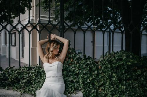 dökme demir, çit, poz, Tatlı kız, sarmaşık, kız, moda, insanlar, kadın, portre