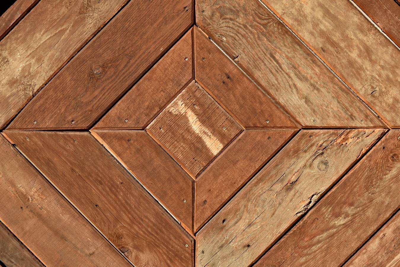design, square, frame, carpentry, hardwood, brown, retro, wood, rough, material