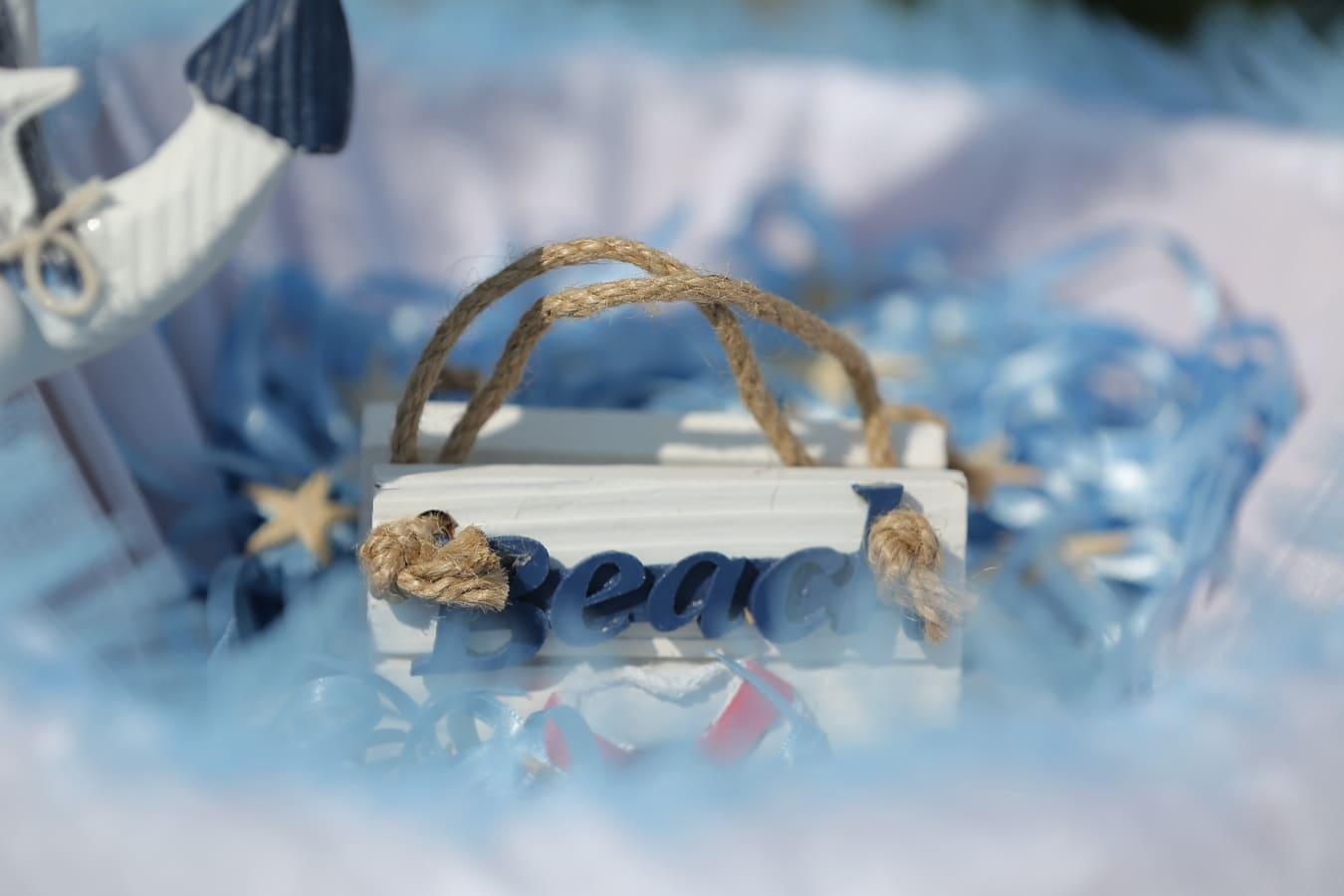 Strand, handgefertigte, Text, aus nächster Nähe, Design, Still-Leben, romantische, Objekt, hell, verwischen