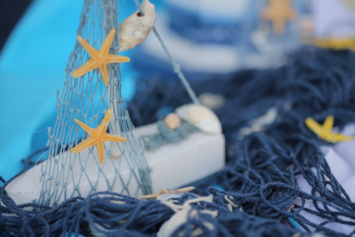 scoici, reţea, natura statica, coarda, vara, nod, tradiţionale, marină, echipamente