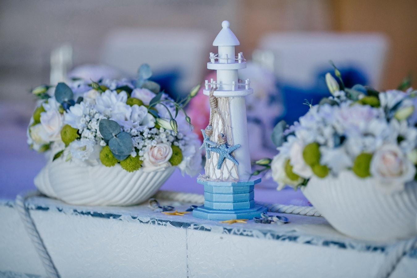 fleurs, bol, maison légère, élégant, décoration, fantaisie, nature morte, fleur, bouquet, table