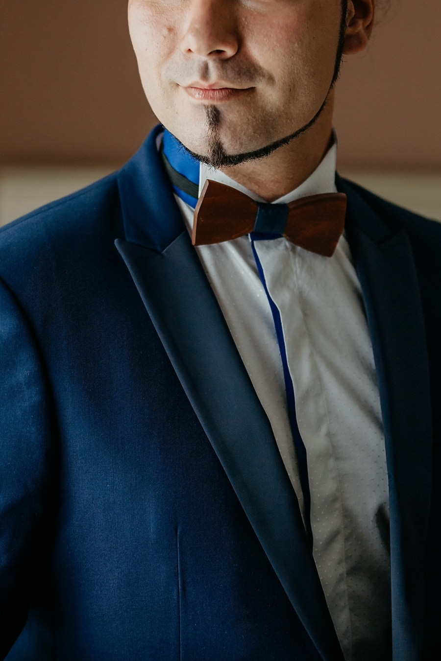 nœud papillon, Barbe, costume de smoking, homme, visage, moderne, Beau, Portrait, homme d'affaire, attacher