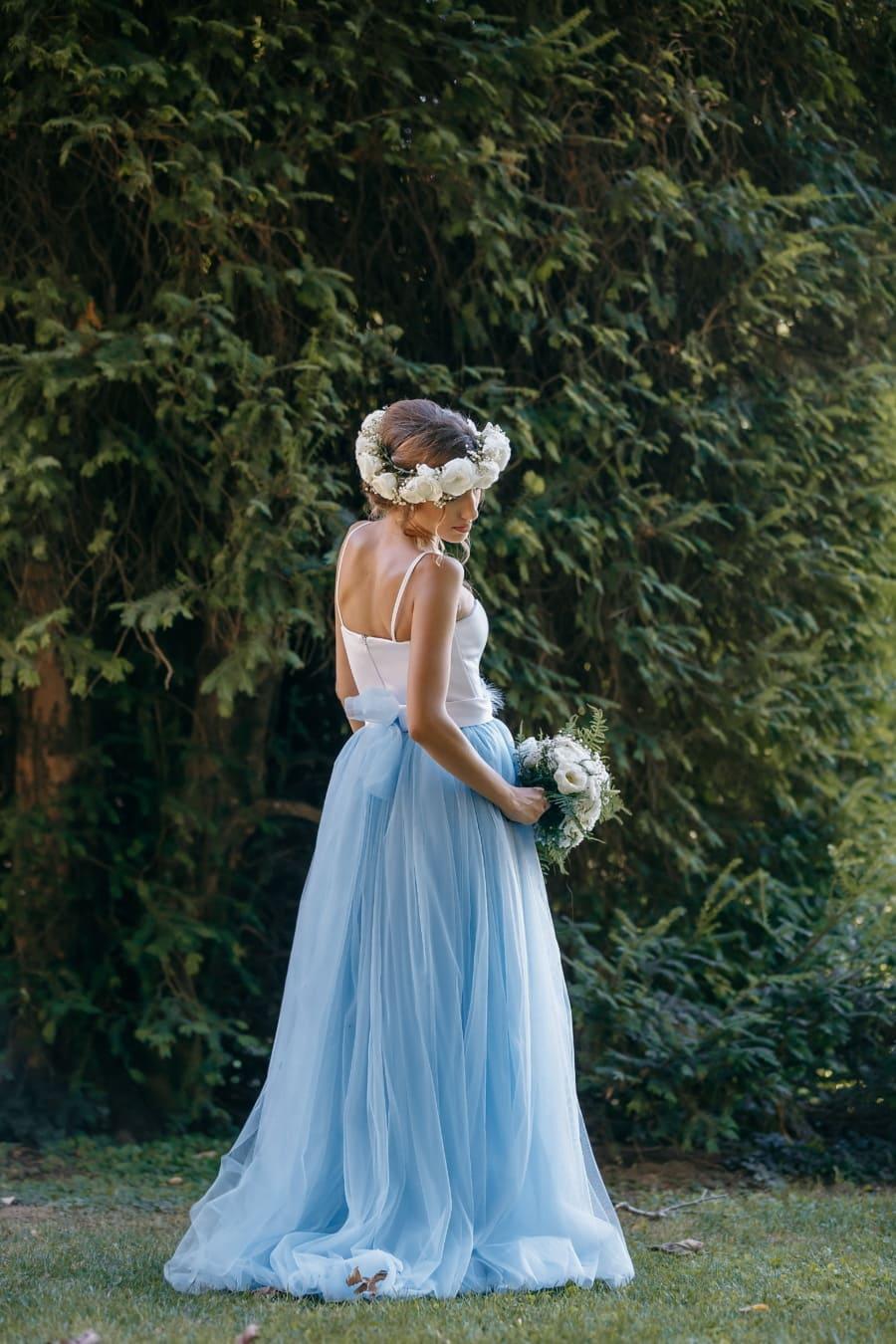 vestido, de lujo, Princesa, nina bonita, novia, chica, falda, prenda, ropa, amor