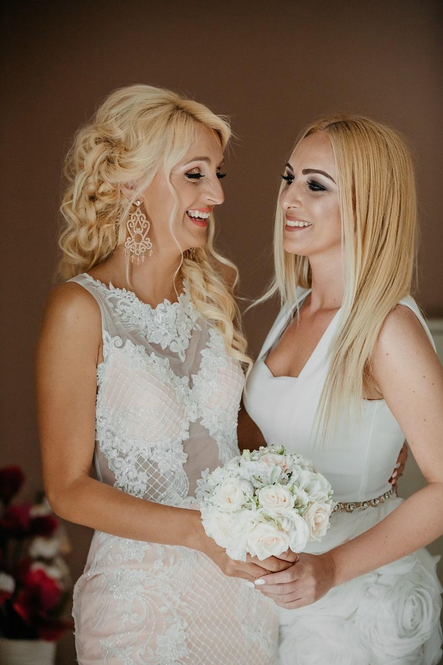 relationship, wedding, women, girlfriend, fashion, bouquet, dress, bride, woman, love