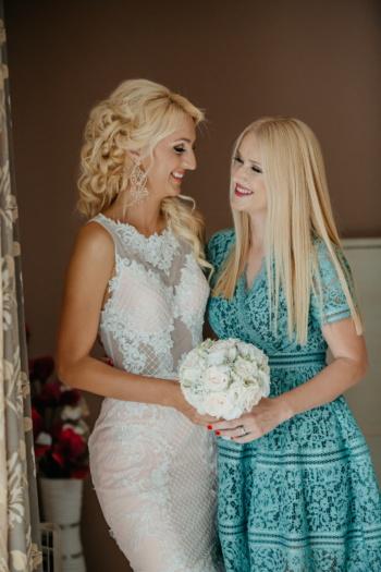 fete, blonda, prietena, relaţia, fată, femeie, blond, nunta, moda, rochie