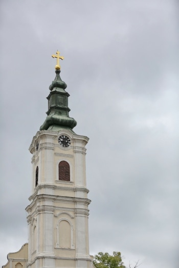 russian, orthodox, church, church tower, architecture, religion, tower, building, cross, old