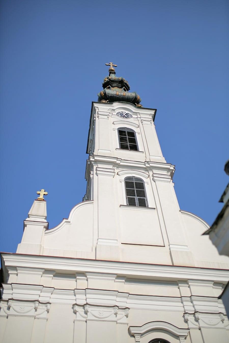orthodoxe, Christentum, Kirche, Kirchturm, Russisch, Russland, Erstellen von, Struktur, Religion, Kuppel