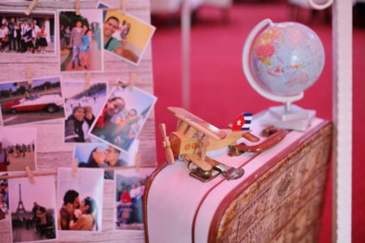 avion, magasin de jouets, en bois, jouets, photo, bagages, à l'intérieur, boîte de, Retro, Tourisme