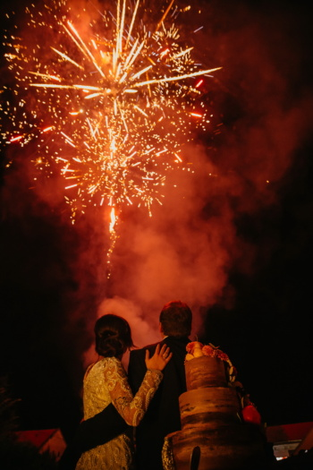 romantic, fireworks, boyfriend, girlfriend, hugging, festival, celebration, smoke, candle, explosion