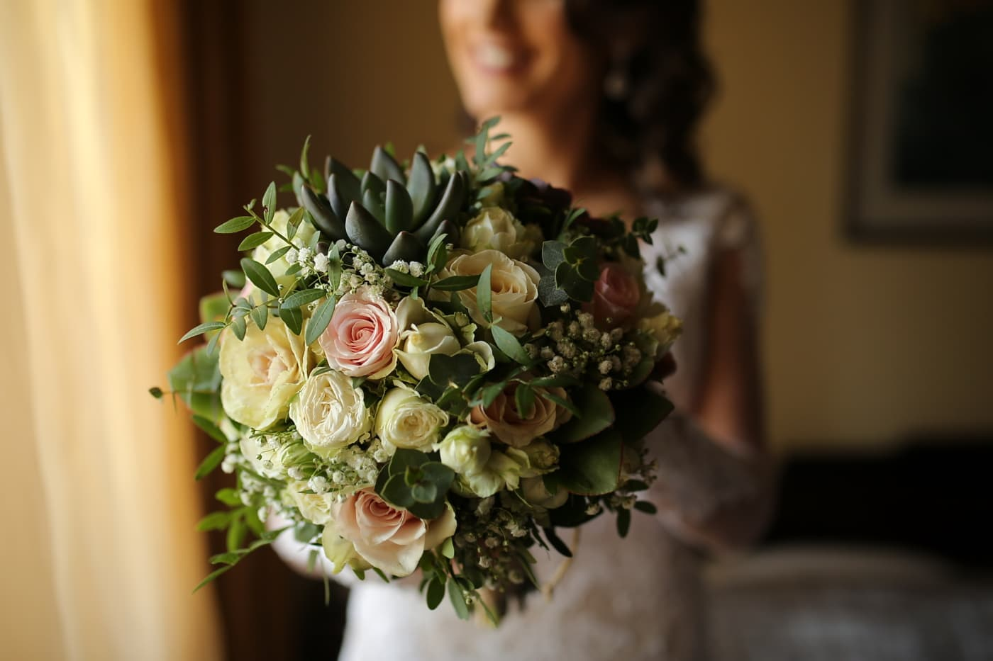 svatební kytice, růže, láska, svatba, nevěsta, uspořádání, dekorace, kytice, květiny, květ