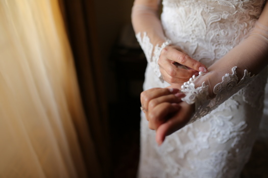リビング ルーム, ウェディングドレス, 花嫁, 手, ファッション, 花婿, 女性, 結婚式, 愛, 婚約