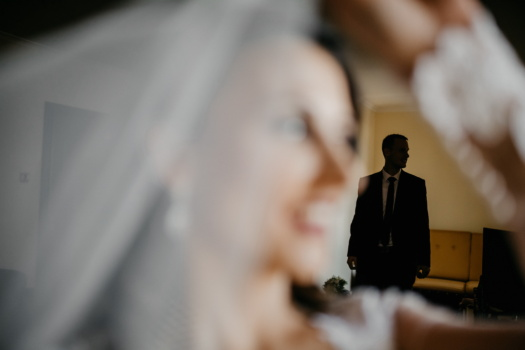 man, walking, focus, blurry, shadow, indoors, blur, people, woman, bride