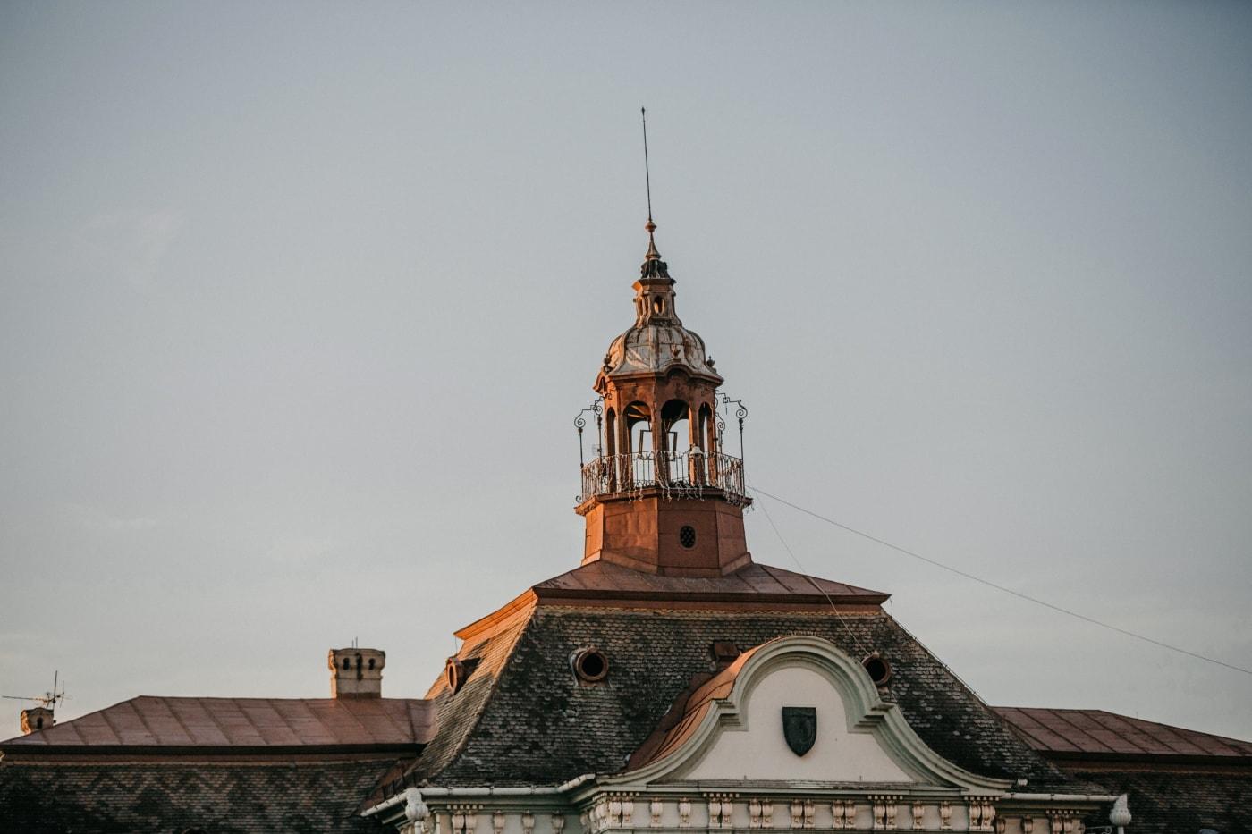 kastil, tempat tinggal, atap, Barok, atap, bangunan, penangkal petir, arsitektur, kubah, biara