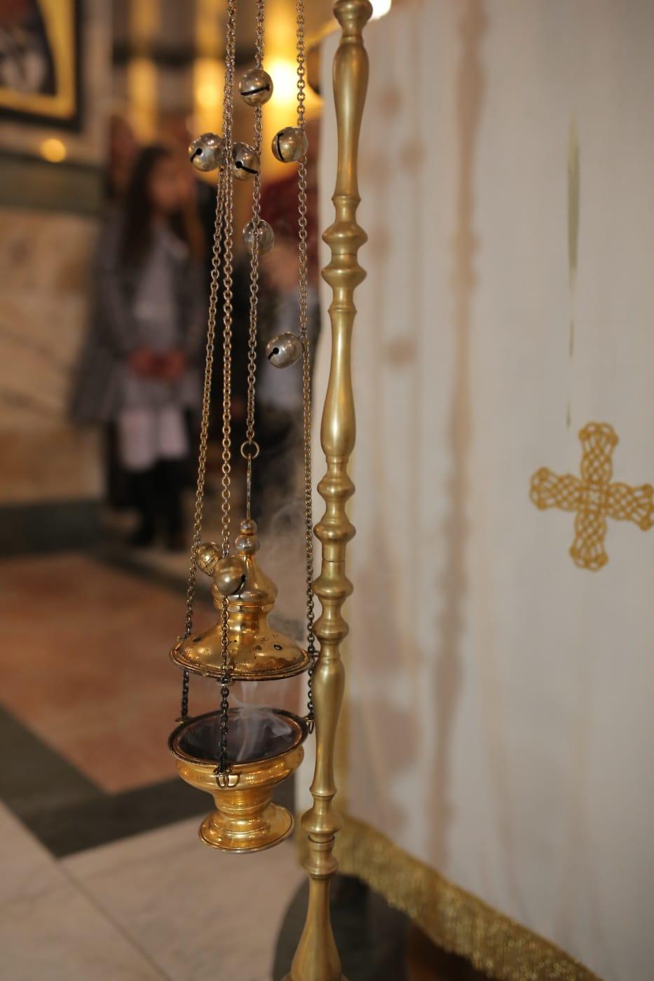 metal, latón, objeto, religiosa, cadena, archivo adjunto, antiguo, antiguo, adentro, tradicional