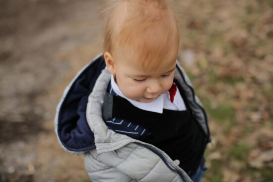 boy, blonde hair, toddler, cute, pretty, winter, jacket, portrait, child, happy