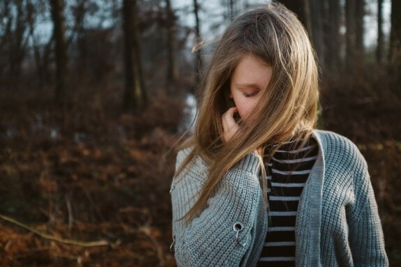 sadness, alone, teenager, wilderness, forest, depression, cardigan, person, girl, attractive
