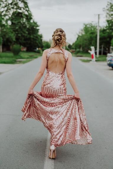Mode, Glanz, Kleid, Frau, Blondine, Fuß, Kleidung, ziemlich, Modell, Kleidungsstück