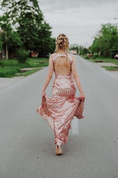 Frau, herrlich, Straße, Asphalt, Fuß, ziemlich, Kleidungsstück, attraktiv, Mode, Modell