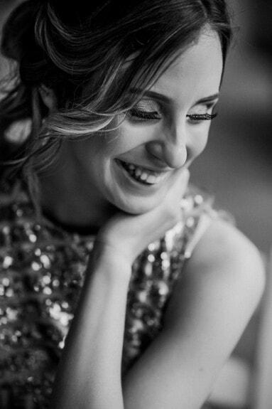 prekrasna, sretan, crno-bijelo, mlada žena, portret, osmijeh, trepavice, lice, dama, djevojka