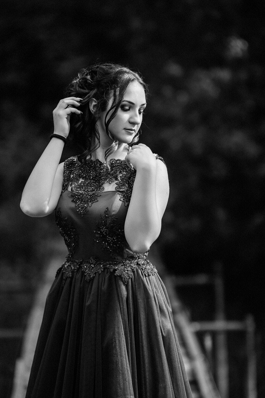 gorgeous, lady, black, posing, dress, portrait, model, attractive, woman, pretty