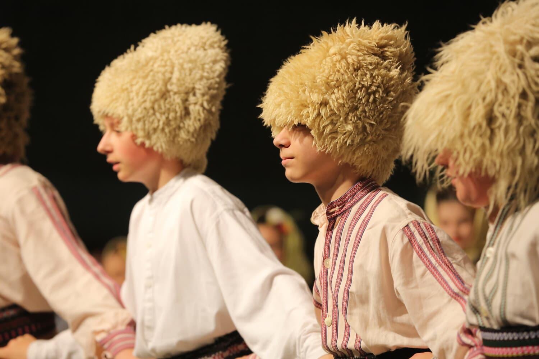 chaleur, traditionnel, l'Europe, East, populaire, danse, femme, mode, musique, enfant