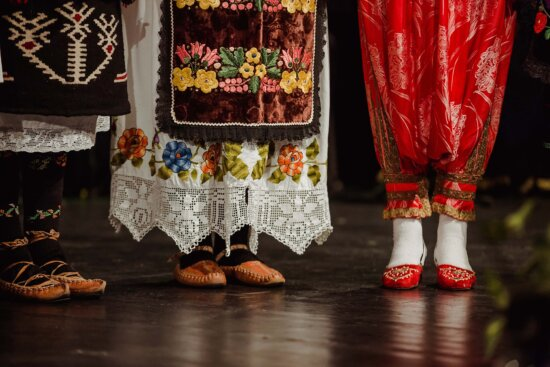 Serbie, tradition, danse, mode, chaussures, chaussures, gens, art, traditionnel, pied
