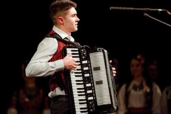 standing, man, contest, musician, accordion, singing, entertainment, performance, music, singer