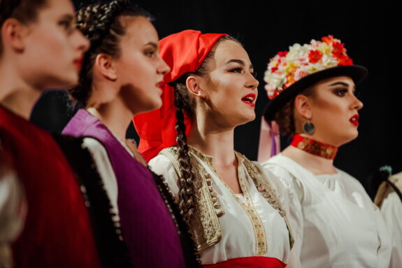 singen, Frauen, Outfit, traditionelle, Musik, Volk, Person, Mode, Frau, tanzen