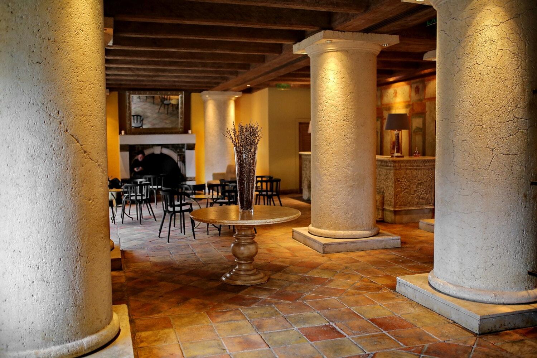 hotel, reception, anteroom, floor, interior, patio, area, architecture, room, indoors