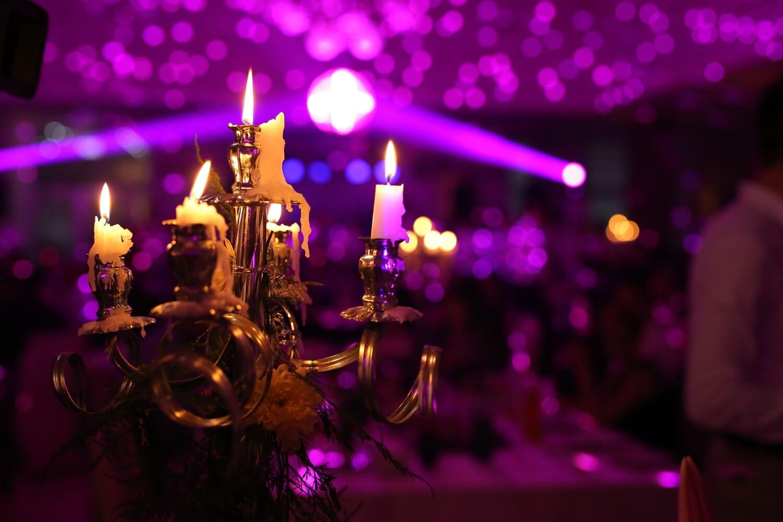 elegance, glamour, candlestick, party, candles, christmas, celebration, candle, candlelight, nightlife