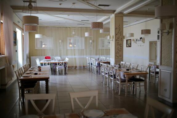 Cafeteria, leere, Restaurant, Hotel, Zimmer, drinnen, Stuhl, Tabelle, Interieur-design, Sitz