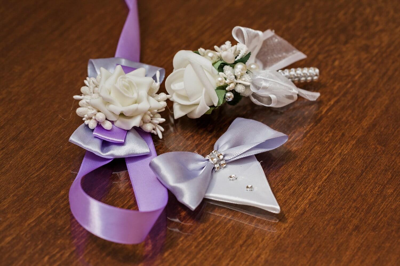 Dekoration, Krawatte Schmetterling, Frau, Mode, Schmuck, Perle, Lust auf, Blume, Anordnung, Thread
