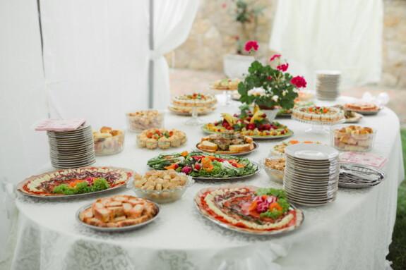 stôl, bufet, raňajky, Záhrada, dekorácie, pecivo, púštne, Snack, reštaurácia, tanier