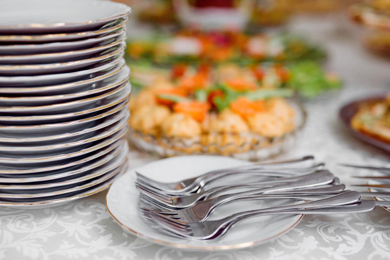 silverware, cutlery, fork, tableware, flatware, kitchenware, dining, dinner, food, table