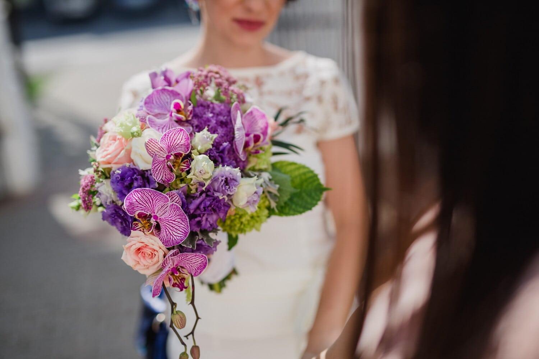 bouquet, Orchid, bouquet de mariage, la mariée, fleur, fleurs, amour, mariage, nature, jeune marié