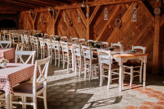 restaurant, à l'intérieur, cafétéria, vide, siège, chaise, bois, table, maison, meubles