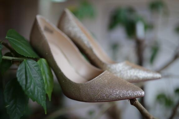 elegant, sandal, branchlet, branches, fashion, blur, leaf, footwear, still life, close-up